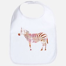 The Colorful Zebra Bib