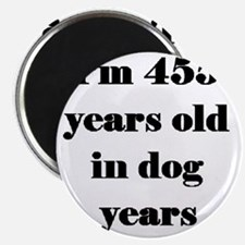 65 dog years 3-3 Magnet