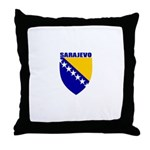 Sarajevo, Bosnia Throw Pillow
