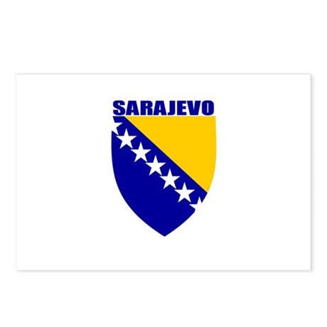 Sarajevo, Bosnia Postcards (Package of 8)