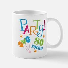 80th Birthday Party Mug