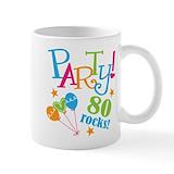 80th birthday Small Mugs (11 oz)