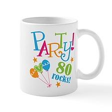 80th Birthday Party Small Mugs