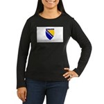 Sarajevo, Bosnia Women's Long Sleeve Dark T-Shirt