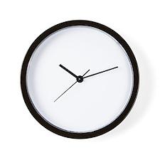 Blue-Lacy-19B Wall Clock
