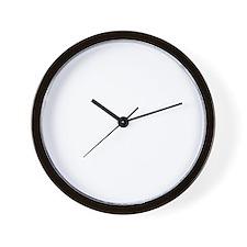 Blue-Lacy-18B Wall Clock