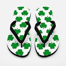 'Irish Shamrocks' Flip Flops