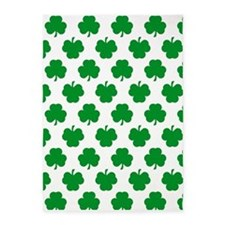 'Irish Shamrocks' 5'x7'Area Rug