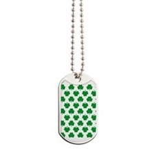 'Irish Shamrocks' Dog Tags