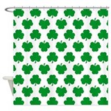 Shamrock Shower Curtains
