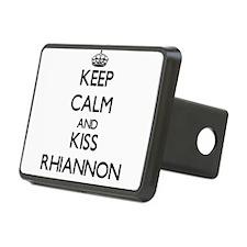 Keep Calm and kiss Rhiannon Hitch Cover