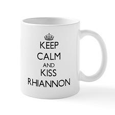 Keep Calm and kiss Rhiannon Mugs