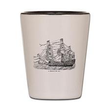 Sailing Ship Mug Shot Glass