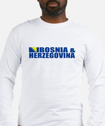 Bosnia & Herzegovina Long Sleeve T-Shirt