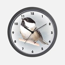 Chickadee Wall Clock