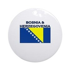 Bosnia & Herzegovina Ornament (Round)