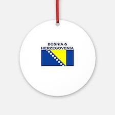 Bosnia & Herzegovina Ornament (Round)