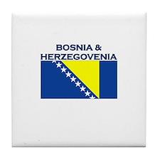 Bosnia & Herzegovina Tile Coaster