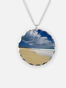 Island Beach Landscape Necklace