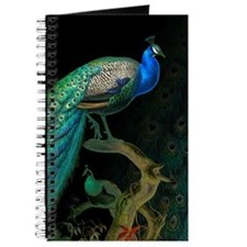 Vintage Peacock Journal