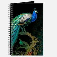 Vintage Peacock Journal