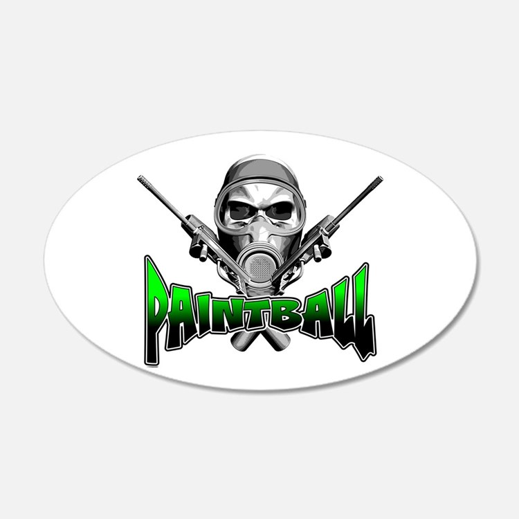 Paintball Wall Decal