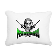 Paintball Rectangular Canvas Pillow