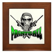 Paintball Framed Tile