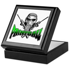 Paintball Keepsake Box