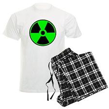 Green Round Radioactive pajamas
