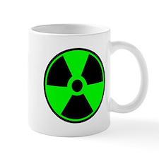 Green Round Radioactive Mugs