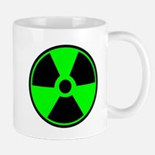 Green Round Radioactive Mugs