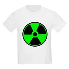 Green Round Radioactive T-Shirt