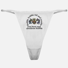 Witch Cauldron Halloween Classic Thong