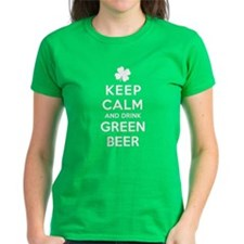 Keep Calm And Drink Green Beer T-Shirt