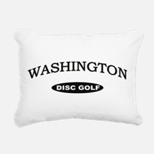 Washington Disc Golf Rectangular Canvas Pillow