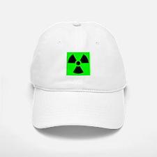 Green Radioactive Sign Baseball Baseball Cap