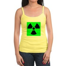 Green Radioactive Sign Tank Top