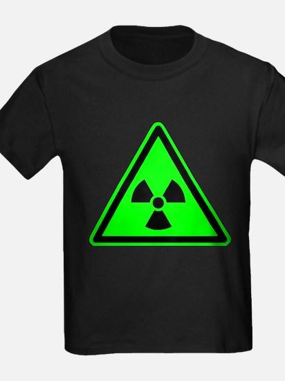 Green Radioactive Yield Sign T-Shirt
