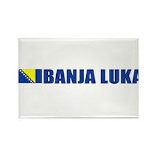 Banja Luka, Bosnia Rectangle Magnet