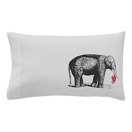 His Elephant Pillow Case