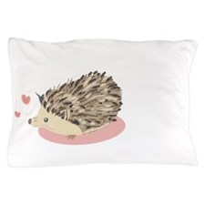Her Hedgehog Matching Pillow Case