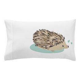His Hedgehog Pillow Case