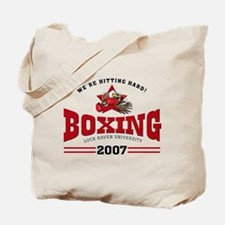 LHU Boxing 2007 Tote Bag
