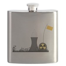 Nuclear Power Plant Flask