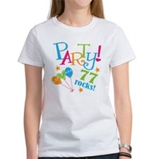 77th Birthday Party Tee