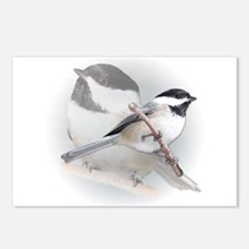 Chickadee Postcards (Package of 8)