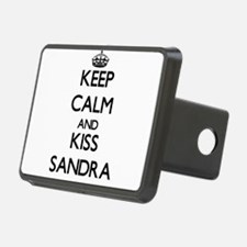 Keep Calm and kiss Sandra Hitch Cover