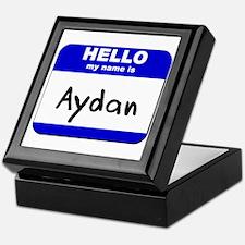 hello my name is aydan Keepsake Box