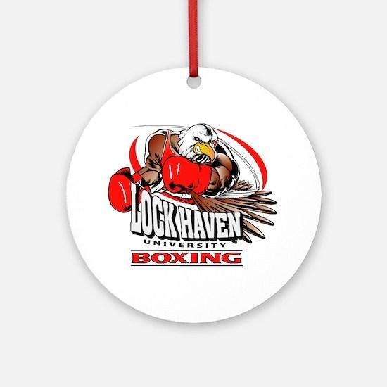 Lock Haven Boxing Ornament (Round)